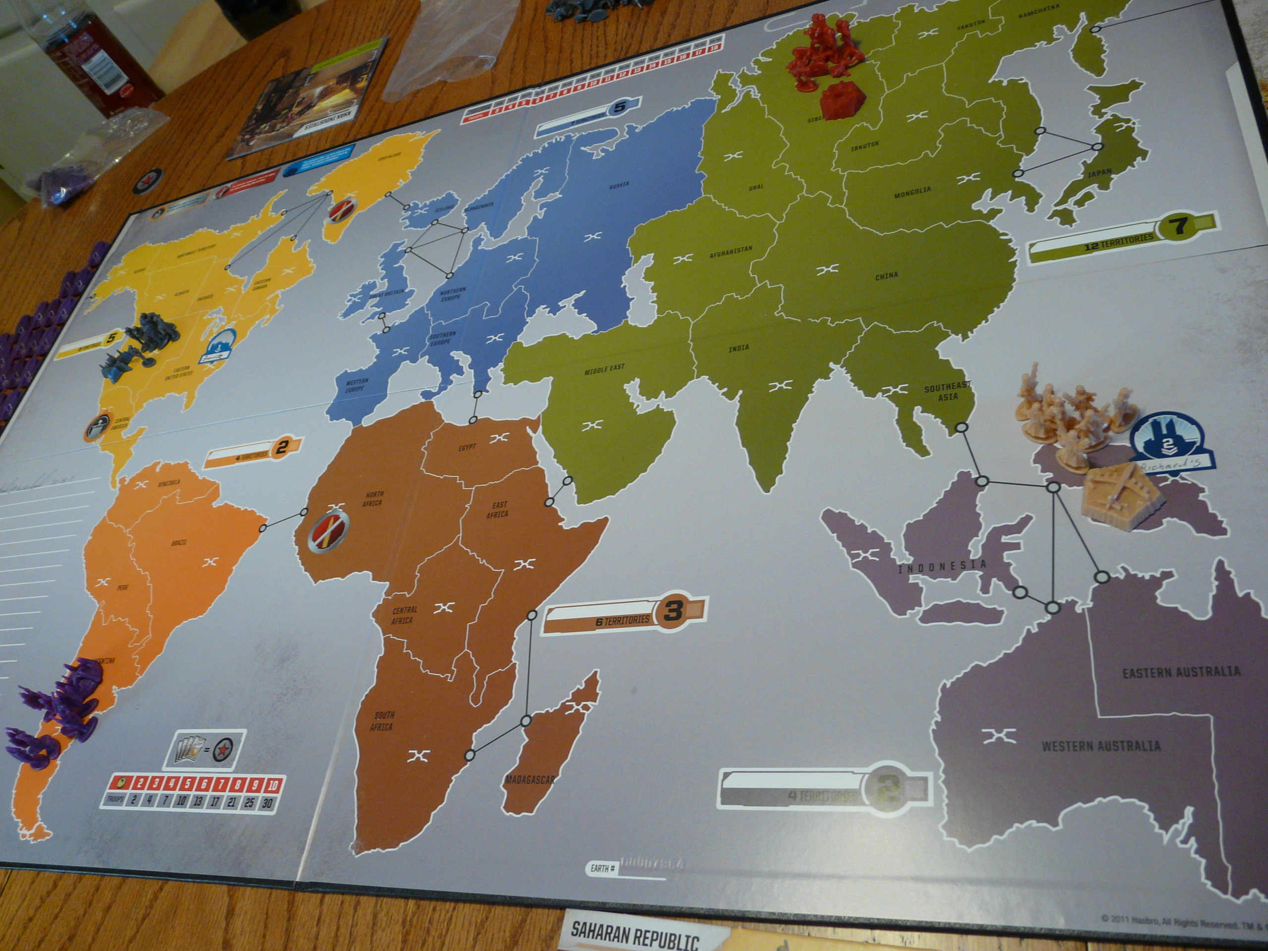 risk legacy set up 1